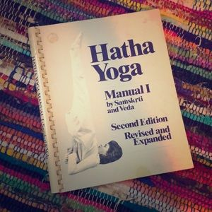 Other - Vintage 1970s Yoga Book